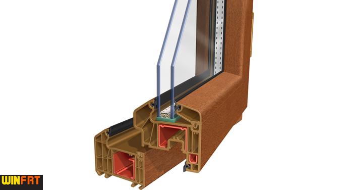 Lamine Kaplama PVC Pencere